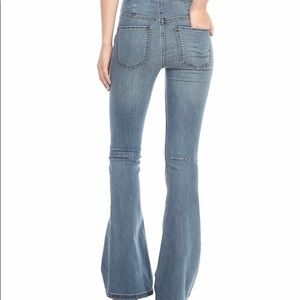 Free people high waisted bell bottoms